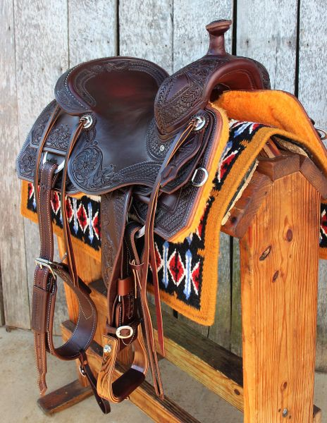16 1 2 Quot Dc Cow Horse Gear Custom Versatility Saddle With