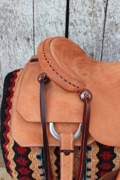 16 Quot Dc Cow Horse Gear Custom Versatility Saddle Rough Out