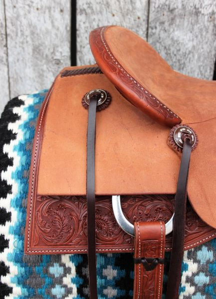 16 1 4 Quot Dc Cow Horse Gear Custom Cutting Saddle With Rough