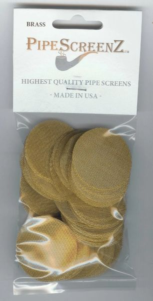 "100+ Count 1 1/2"" (1.50"") Brass Pipe Screens"