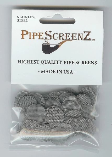 "100+ Count 5/8"" (0.625"") Stainless Steel Pipe Screens Made in the USA!"