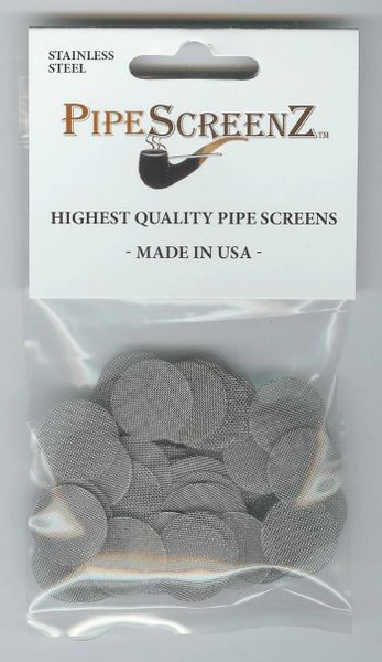 "100+ Count 3/4"" (0.750"") Stainless Steel Pipe Screens Made in the USA!"