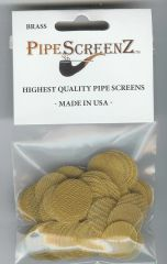 "100+ Count 13/16"" (0.812"") Brass Pipe Screens Made in the USA!"