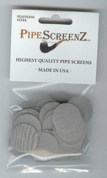 100+ Count ONE INCH Stainless Steel Pipe Screens Made in the USA!