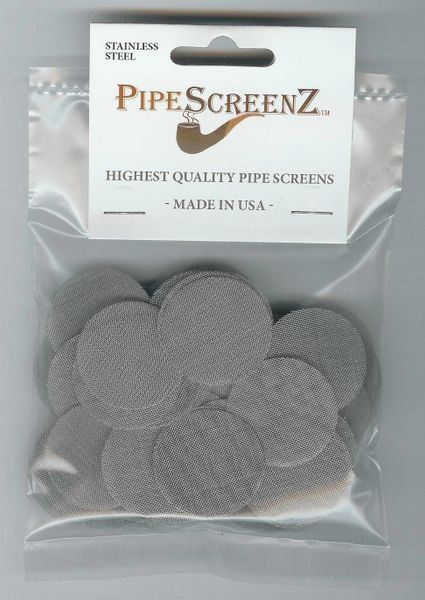 """100+ Count 1.25"""" (1.250"""") Stainless Steel Pipe Screens Made in the USA!"""