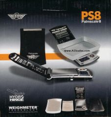 MYWEIGH PS8 PALMSCALE 8.0 DIGITAL SCALE 300g x 0.01g Capacity 7 weigh modes