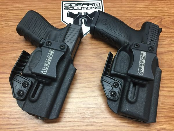 IWB Fixed Retention (Optional Tuck Claw)