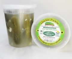 New York Garlic Sour Pickles 32 oz
