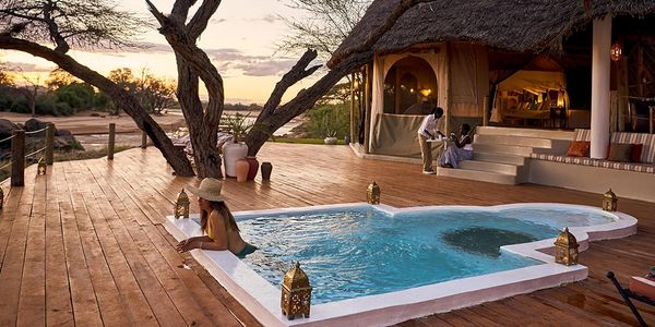 Sasaab Lodge, Samburu National Reserve, The Safari Collection, Meru Region, Kenya
