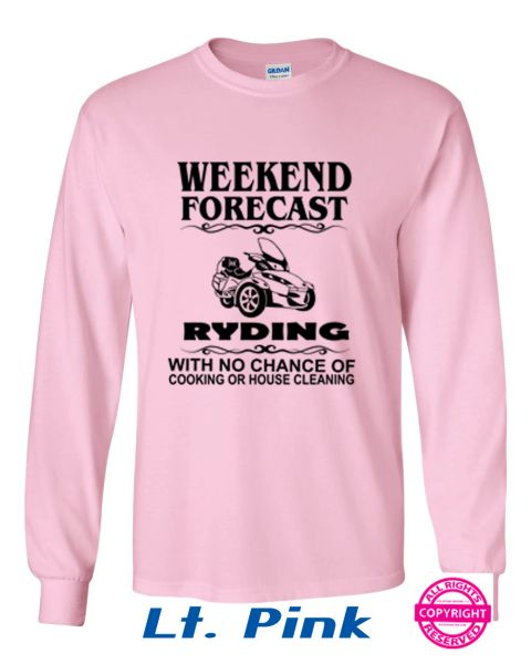 Can Am Spyder Ladies Weekend Forecast - Long Sleeve