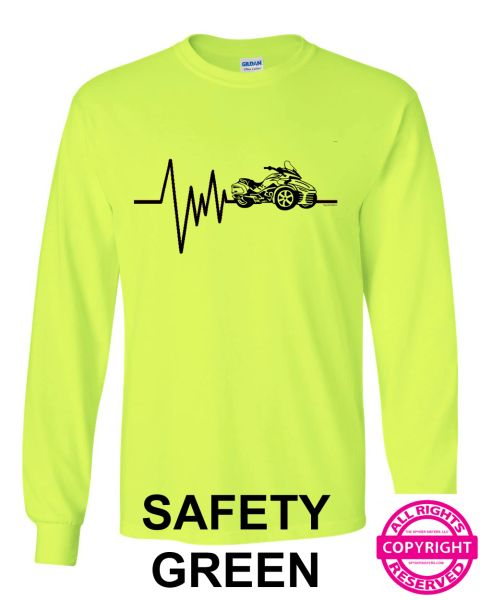 Can Am Spyder Mens Spyder Heartbeat - Long Sleeve