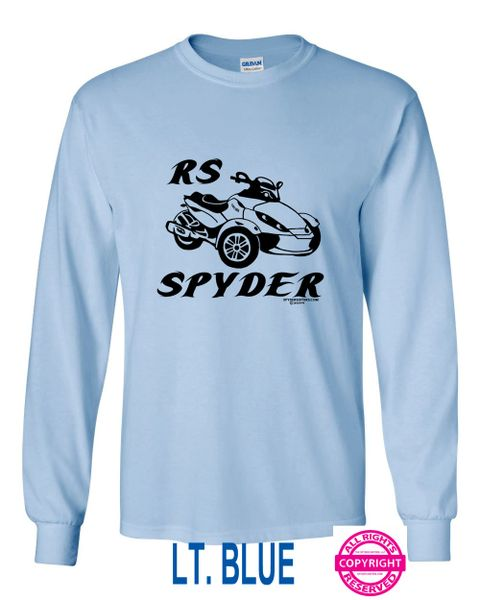 Can Am Spyder Bikes With Lettering - Long Sleeve