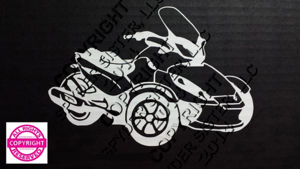 Can Am Spyder Vehicle Decal Sticker - Spyder Decal