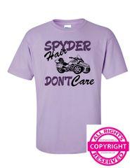 Can Am Spyder - Spyder Hair Don't Care - Short Sleeve
