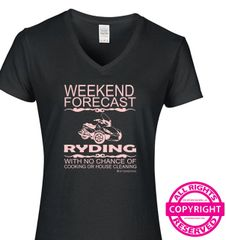 Can Am Spyder - Ladies Weekend Forecast - Short Sleeve