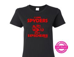 Can Am Spyder - I Like Spyders, Not Spiders - Short Sleeve