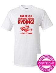 Can Am Spyder - One of us is thinking about ryding...ok, it's me - short sleeve