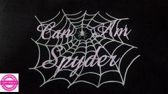 Can Am Spyder Ladies Spider Web - Short Sleeve