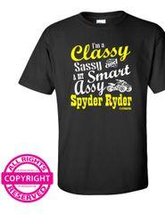 Can Am Spyder -I'm a Classy Sassy and a bit Smart Assy Spyder Ryder-short sleeve