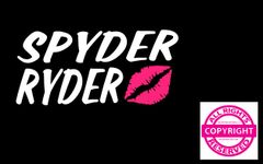 Can Am Spyder Vehicle Decal Sticker - Spyder Ryder with Lips