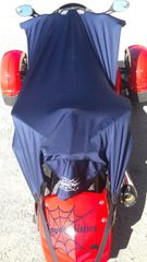 Can Am Spyder Sun Shade - Navy