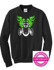 Can Am Spyder -Spyder with Flames - Long Sleeve & Fleece