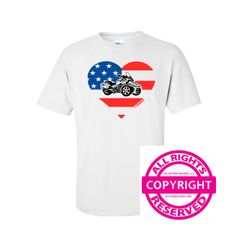 Can Am Spyder - Spyder and Heart - Short Sleeve
