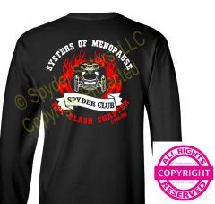 Can Am Spyder -Systers of Menopause - Hot Flash Chapter -Long sleeve & Fleece