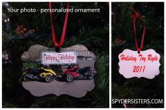 Can Am Spyder - Your Photo Personalized Ornament