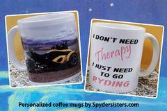 Can Am Spyder - Your Photo - Your Saying Custom 11oz Mug