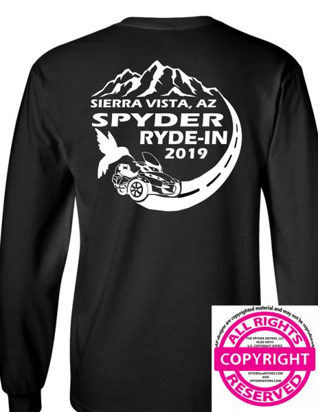 SPYDER RYDE-IN - Sierra Vista Event Shirt- Long Sleeve
