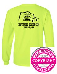 SPYDER RYDE-IN - YUMA Event Shirt- Long Sleeve