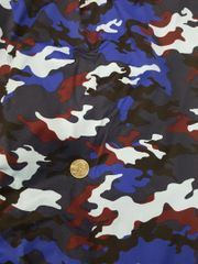 Can Am Spyder Sun Shade -Blues and Maroon Camo