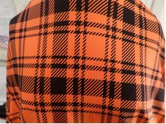 Can Am Spyder Sun Shade - Orange Plaid