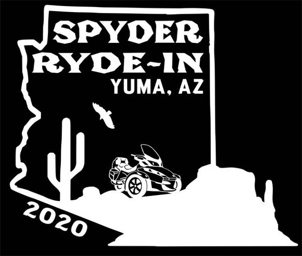 SPYDER RYDE-IN - Yuma 2020 Event Shirt- Long Sleeve