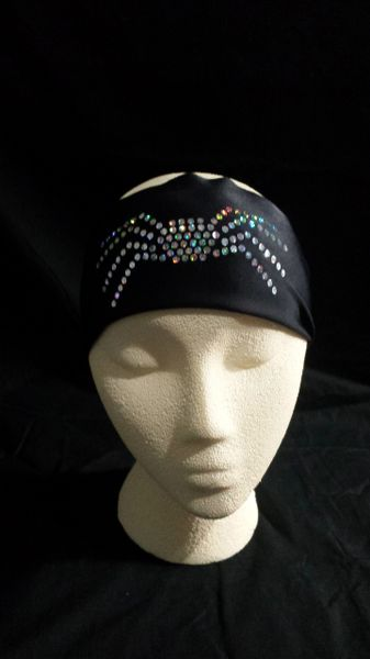 Faux Rhinestone Spider Hair HeadBand