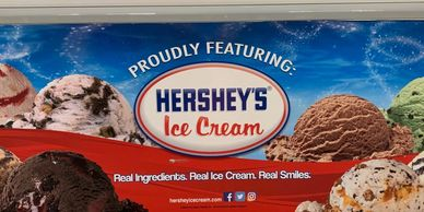 Hershey's Ice Cream - Over 30 different flavors to include no sugar added options