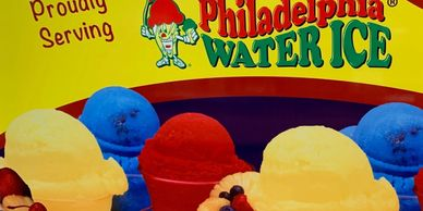 Philadelphia Water Ice is a premium blend Italian ice that is dairy free, gluten free, peanut and tree nut free, soy free and cholesterol free