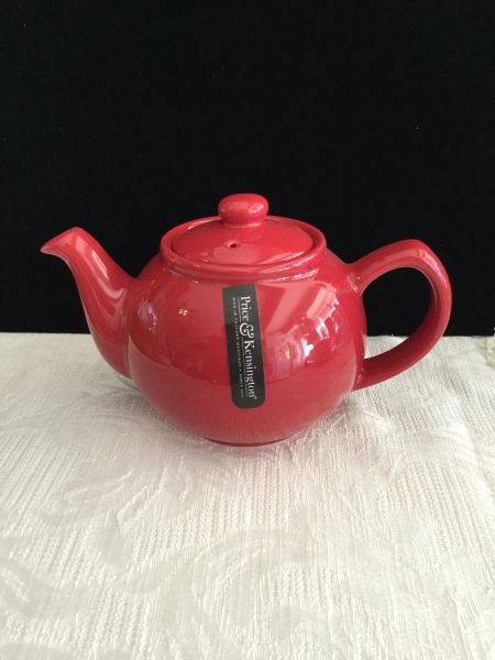 2 cup Price& Kens red teapot