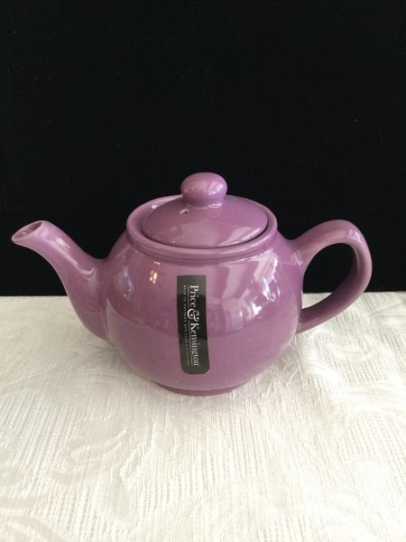 2 cup Price& Kens purple teapot