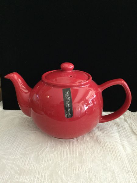 6 cup Price& Kens red teapot