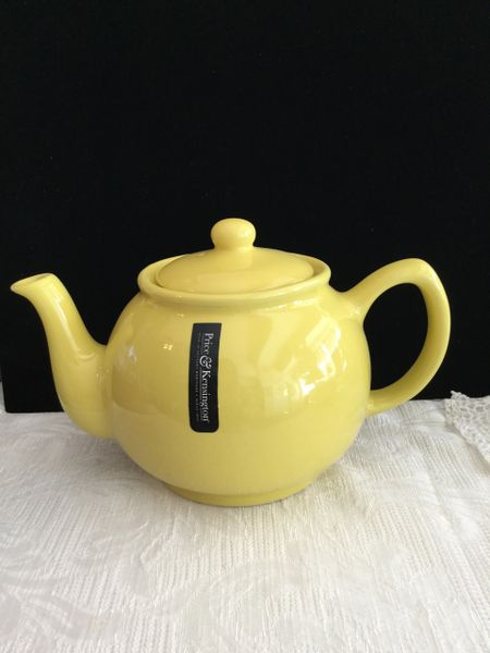 6 cup Price& Kens yellow teapot