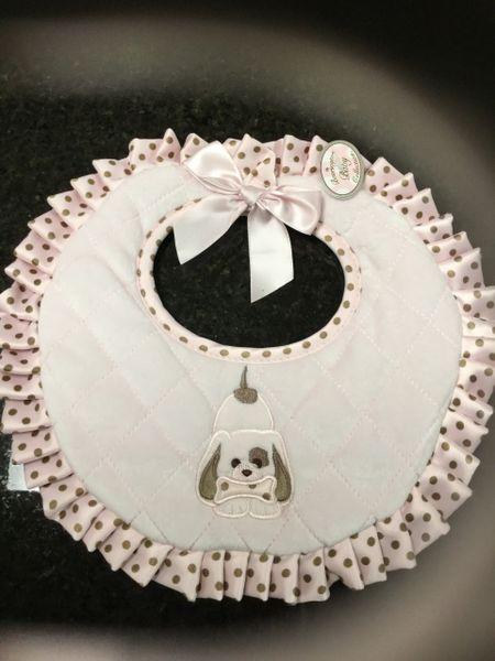 Bearington collection pink dog bib