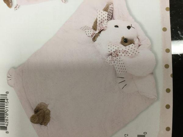 Wiggles pink belly blanket
