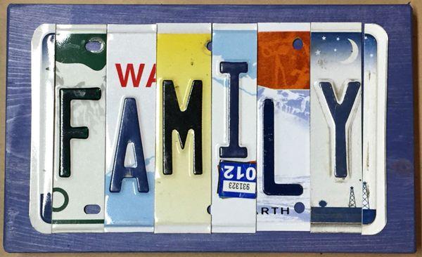 D. Custom Sign - 6 Letters