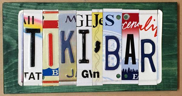 E. Custom Sign - 7 Letters