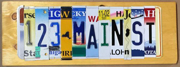 G. Custom Sign - 9 Letters
