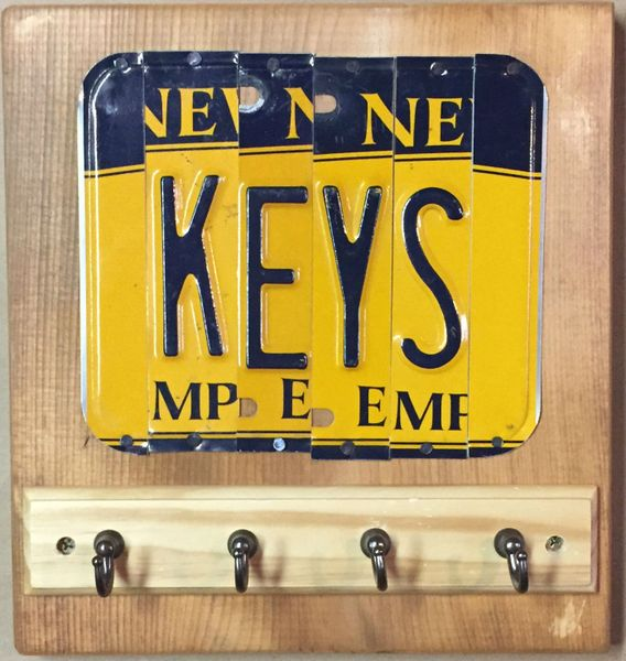 Q. NY Key Holder Sign