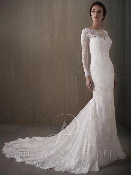 Adrianna Papell Wedding Dress 31014 Rebecca