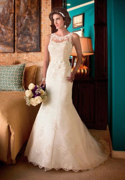 Mary's Bridal Wedding Dress 6202